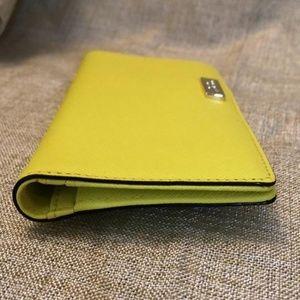 NEW!! KATE SPADE Yellow Wallet